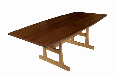 black walnut dining table custom made black walnut dining table by matt cooper