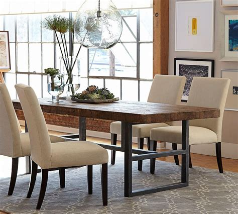 Pottery Barn Dining Room Set griffin fixed dining table pottery barn au