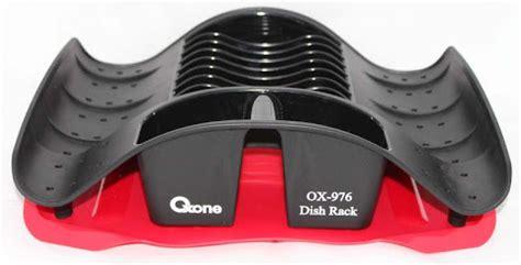 Rak Piring Oxone ox 976 oxone rak piring plastik merah perabotan rumah