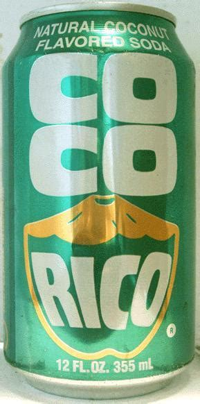 coco rico coco rico coconut soda 355ml united states