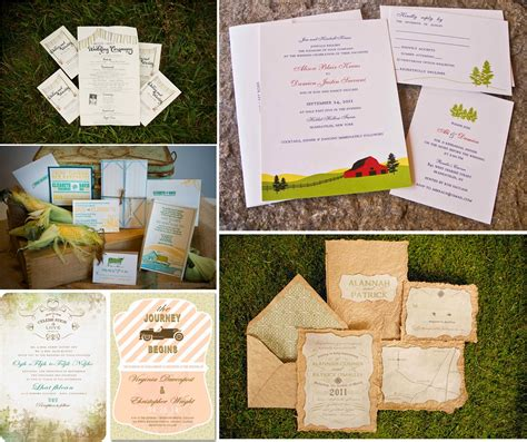 Farm Theme Wedding Invitations by Prom Dress Best Ideas For A Farm Wedding