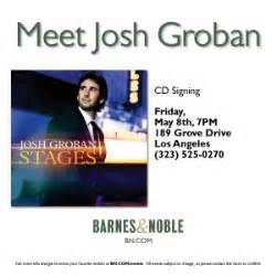 josh groban stages album signing at barnes noble los angeles extras hancock park s josh groban to sign cd at the grove s