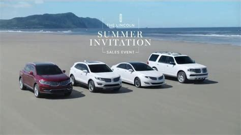 lincoln sales event lincoln summer invitation sales event tv commercial kite