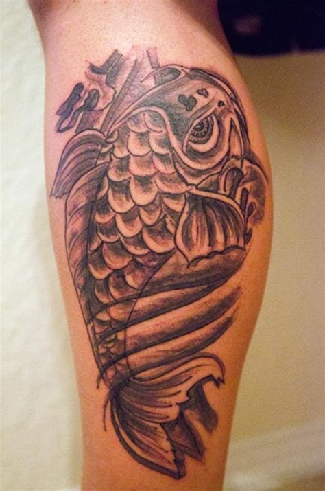 Tattoo Koi Fish Leg | koi fish tattoo designs on leg hair and tattoos