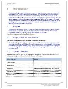 design document template for software development database design document software development template