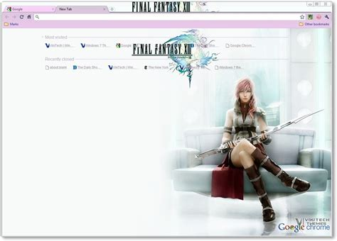 Theme Google Chrome Final Fantasy 7 | theme google chrome final fantasy 7 final fantasy xiii