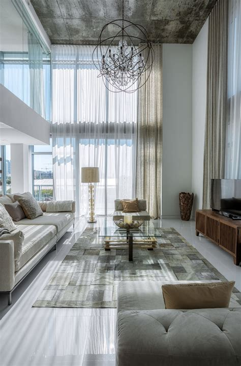 4 midtown residence by mila design living rooms