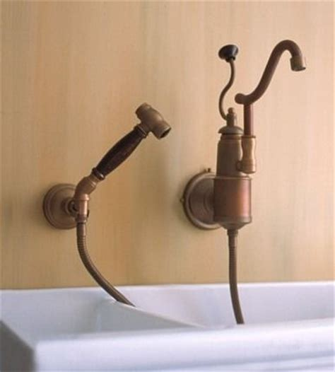 wall faucet kitchen traditional kitchen faucets for a country kitchen