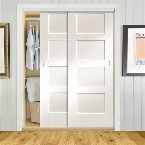 sliding wardrobe doors frame kit shaker door