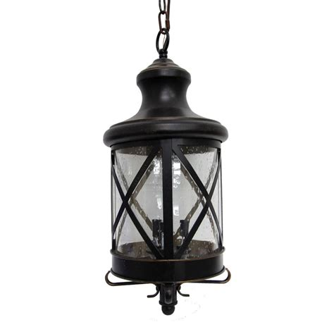outdoor oil ls lanterns y decor taysom 3 light oil rubbed bronze outdoor hanging