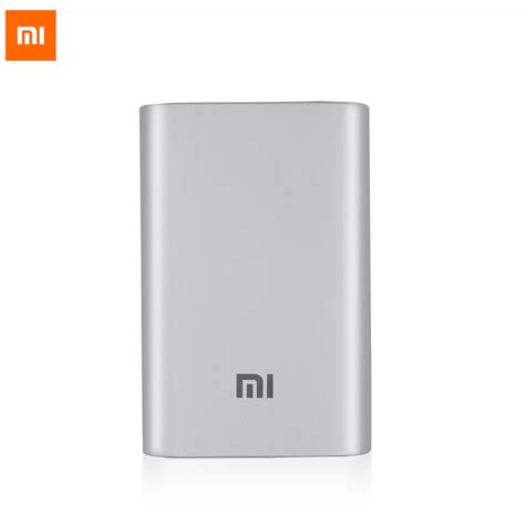 Xiaomi Power Bank 10000mah Original Real 100 original xiaomi power bank 10000mah 18650 battery mi powerbank portable external battery micro