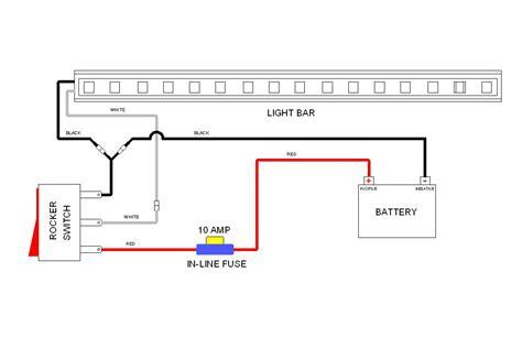 led light bar wiring diagram with switch vision x harness