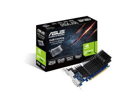 Asus Gt730 2gb Ddr5 By Yoestore asus geforce gt 730 silent 2gb ddr5 karty graficzne