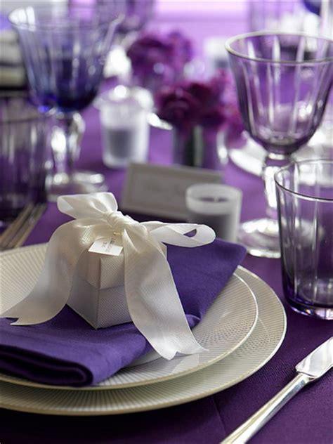 wedding table settings purple fabulous weddings events purple place settings