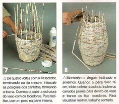 Magazine Vase Diy by 1000 Images About Magazine Crafts On Recycled