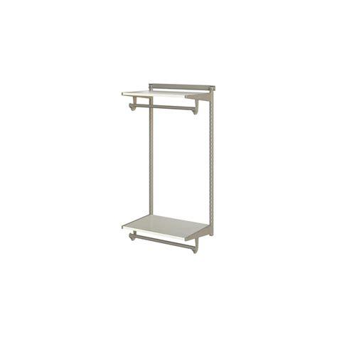 Closetmaid Utility Shelf Closetmaid Shelftrack 80 In H X 48 In W X 16 In D White