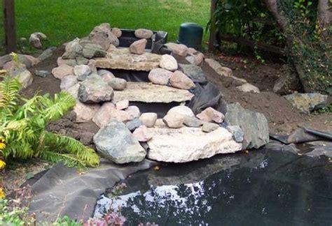 diy pond waterfall kits