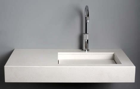 Quartz Sinks from Giquadro   Quadro, Flat Line