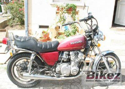 Suzuki Gs550l Review 1979 Suzuki Gs 550 L Specifications And Pictures
