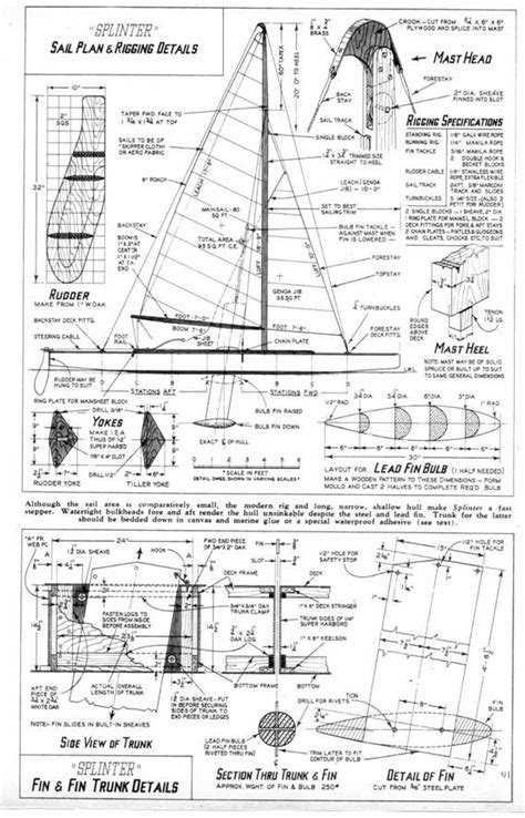 sailing boat keel design designs for a tooth pick variable keel carpentry