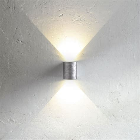 up and wandleuchten innen licht trend led wandleuchte ip44 187 zink 171 kaufen otto