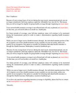 Insurance Cancellation Letter Obamacare Sample Termination Letter For Health Insurance Policy