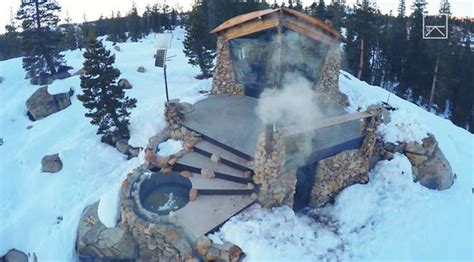 live off grid travel in this beautiful tiny home caravan legendary snowboarder builds his own remarkable off grid