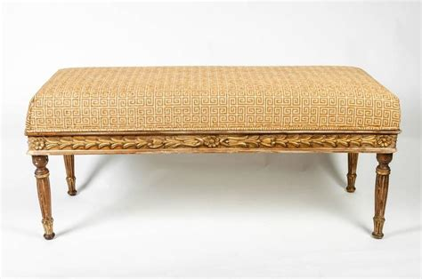 upholstered vanity bench upholstered vanity bench for sale at 1stdibs
