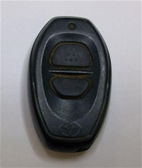 Toyota Tacoma Key Fob Programming 1999 Toyota Tacoma Key Fob Remote Programming