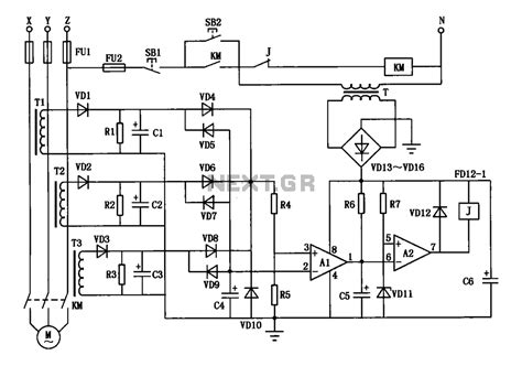 3 phase motor load monitor wiring diagrams wiring