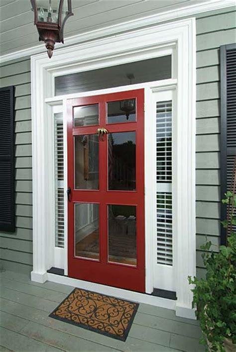 colonial front doors with storm door in front of it of the wood storm doors on freera org interior exterior doors
