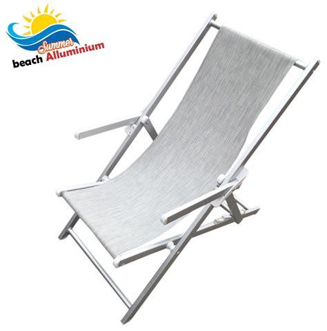 sedia sdraio sedia sdraio da spiaggia spiaggina alluminio stabilimento