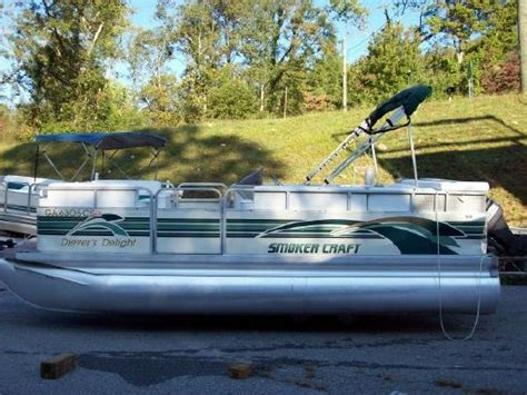 smoker craft pontoon 1997 smoker craft 20 pontoon boats yachts for sale