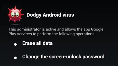 virus removal for android tablet document moved