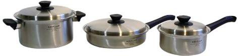 Panci Staenless Steel Vita 9 Pc Set vita craft 6910 8001 frying pan 6 set buy brantsso5