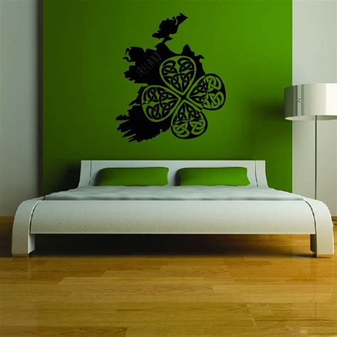 wall stickers ireland ireland silhouette wall sticker country wall