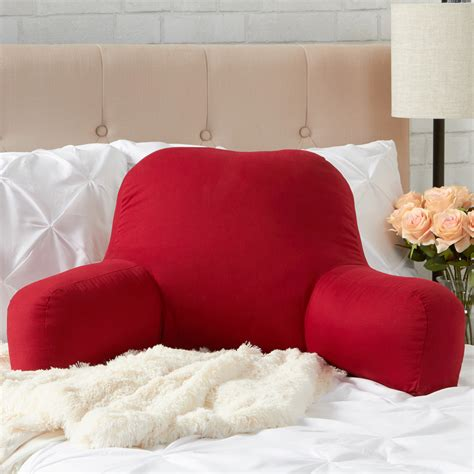decoration bedrest pillow removable cover bed reading pillow greendale home fashions bed rest pillow cotton duck