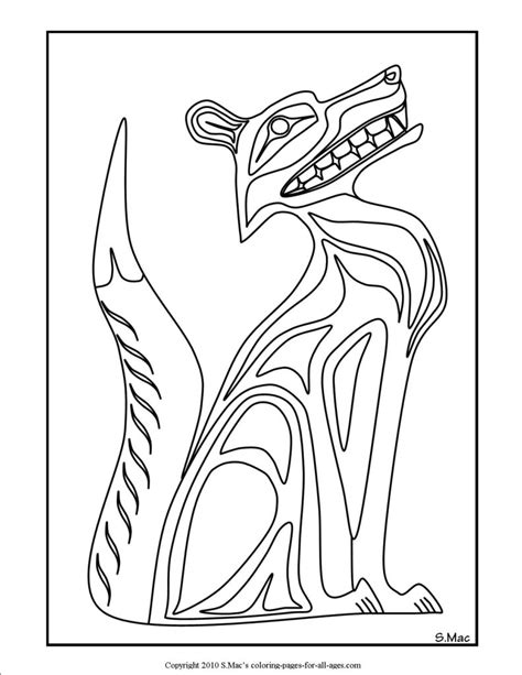 northwest indian coloring pages coloring pages pacific northwest native american art