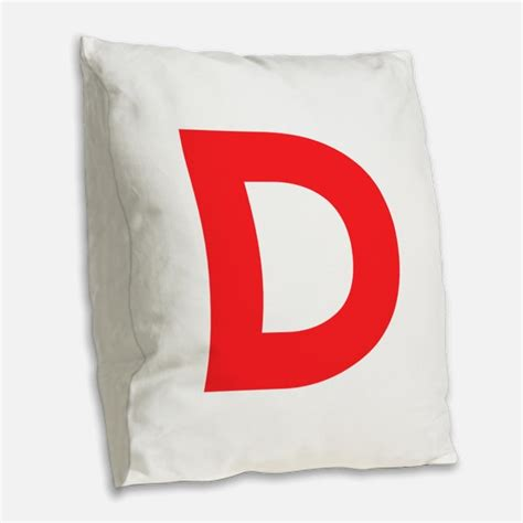 Letter Pillows by Letter D Pillows Letter D Throw Pillows Decorative