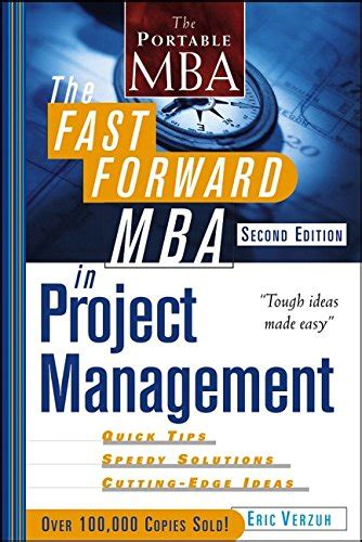 10 Day Mba Book Pdf by The Fast Forward Mba In Project Management