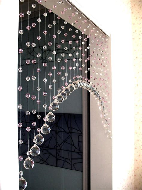 bead window curtains curtina feita com cristais para lustres ldicristais www