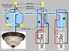 1 switch 2 lights wiring diagram 3 wire cable get free