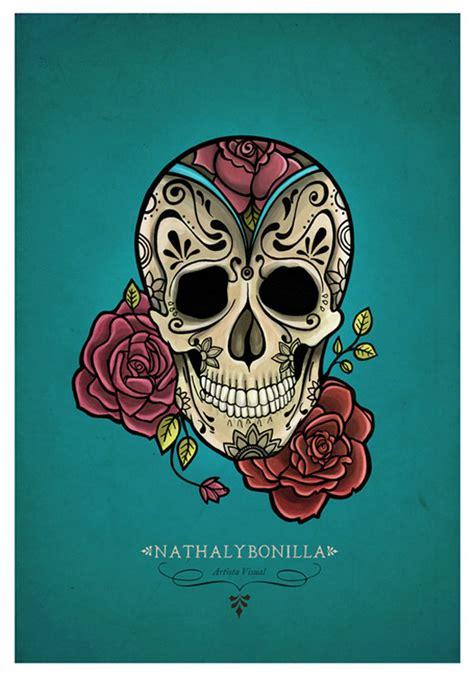 imagenes de calaveras literarias a color calaveras mexicanas dise 241 os para tatuajes imagui