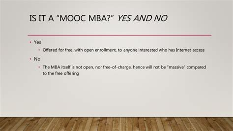 Coursera Illinois Mba by Imba Initial Unofficial Evaluation Plan