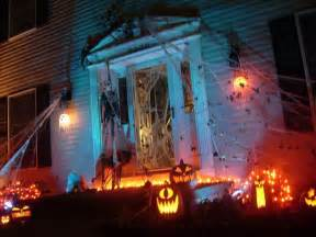 Halloween Yard Decorating Spooky Halloween Front Yard Decorations Damn Cool Pictures