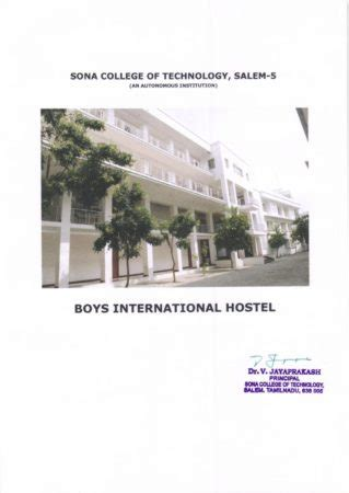 Sona College Mba Fees Structure by Sona College Of Technology Sona Salem Admissions 2018