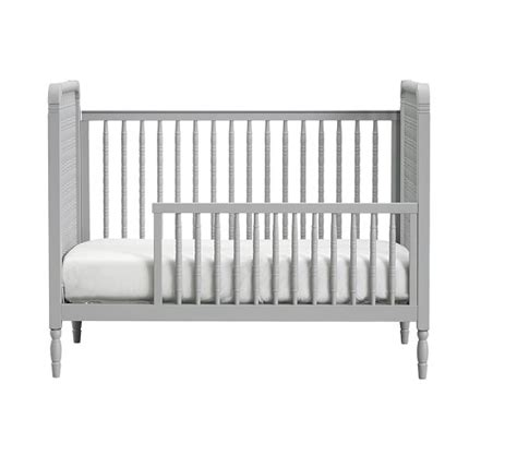 Spindle Crib by Elsie Spindle Convertible Crib Pottery Barn