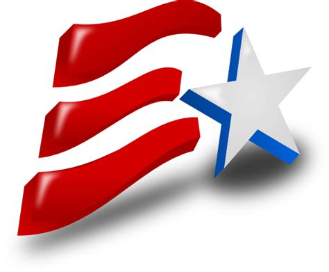 Clipart Independence Day independence day flag clip at clker vector clip royalty free domain