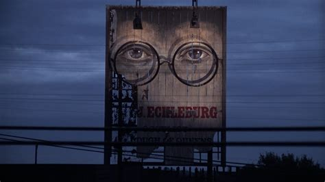 billboard symbolism in the great gatsby the great gatsby 1974 the movie