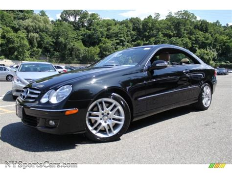 2008 mercedes coupe 2008 mercedes clk 350 coupe in obsidian black